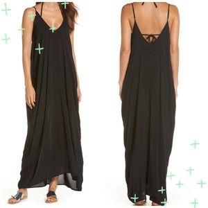 NWT Elan V Neck back Cover Up Maxi Dress size M